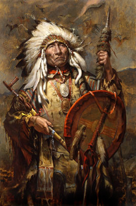 Chief Big Mane**Brule Lakota