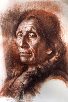 Little Robe (Hahkethomemah) Cheyenne