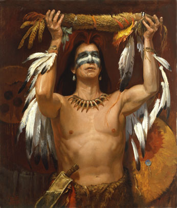 The Offering**Sioux Warrior Dedicates His Life to People